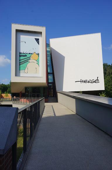 Hergé Museum in Louvain-la-Neuve (2014)