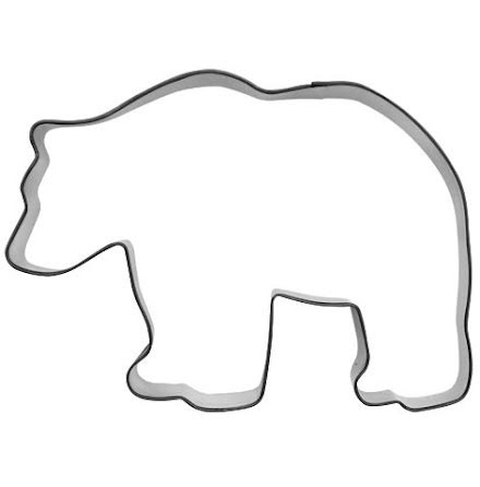 Kakform - Björn, 10,5 cm