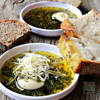 Parsley Garlic Dipping Sauce For Bread Recipes