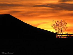 Photo: February 2, 2012 - Sunset on the Farm #creative366project