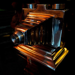 Shine by Campbell McCubbin - Artistic Objects Technology Objects ( trophy, bellows, camera, photography, shiny,  )