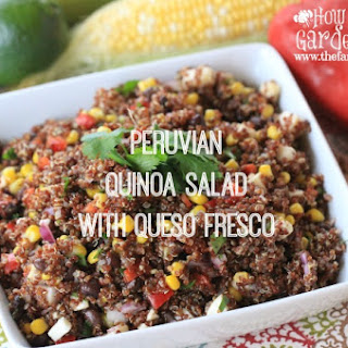 Peruvian Quinoa Salad with Queso Fresco