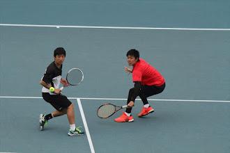 Photo: 松尾・小谷野組は予選を突破し、2回戦進出!