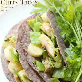 Thai Green Curry Tacos.