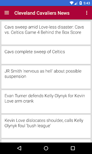 BIG Cleveland Basketball ニュース
