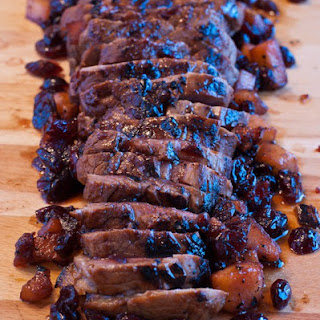 Pork Tenderloin with Pomegranate Pan Sauce