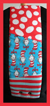 "Photo: ""Seuss""  customized Beco Gemini combined 3 fabrics"