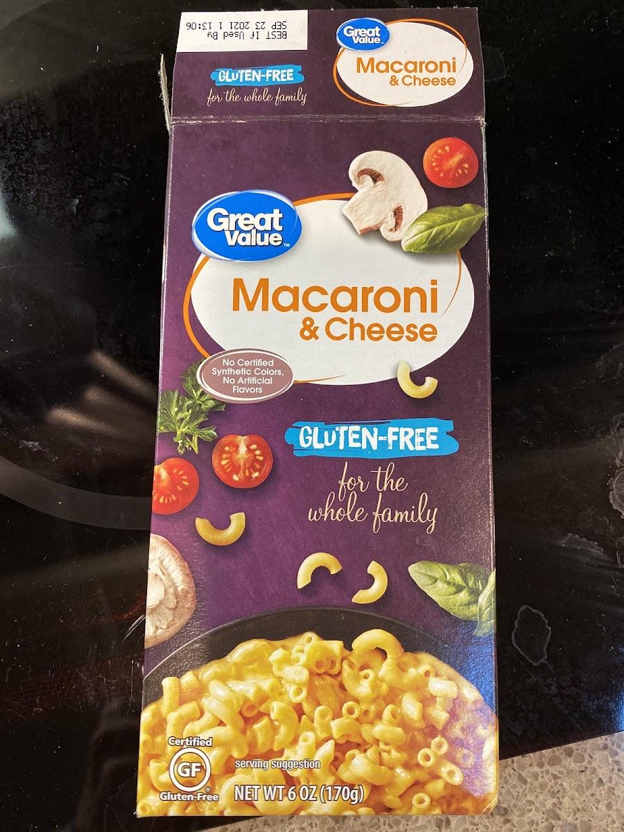 Macaroni & Cheese (gluten-free)