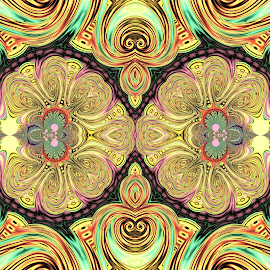 by Cassy 67 - Illustration Abstract & Patterns ( digital, love, harmony, light, fractal, pattern, abstract, fractals, digital art, lifestyle, fashion, energy )