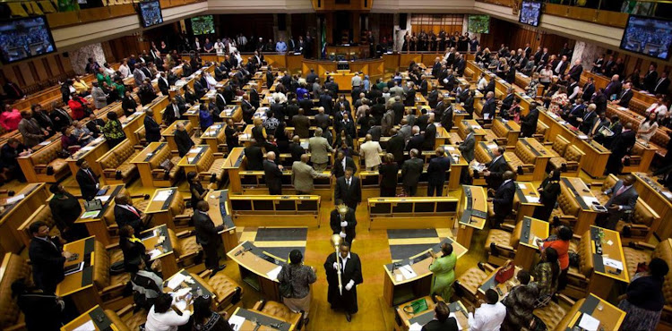 Parliament heard that at least three ministerial houses had remained vacant for years while the department was spending money to secure accommodation for ministers.
