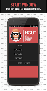 Hcut - photoeditor men's haircuts: beard mustache - náhled