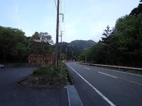 鳥居道駐車場に駐車