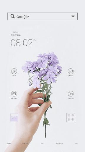 Purple flowerドドルランチャのテーマ