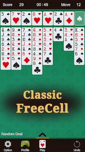 FreeCell 1.33 screenshots 1