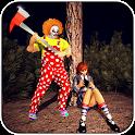 Killer Clown Attack City Gangster 2019 icon