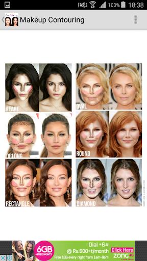 Makeup Contouring  screenshots 8