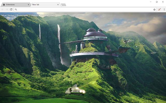 Fantasy Landscape Hd Wallpapers Sci Fi Theme