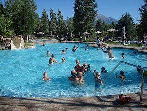 Photo: Late summer pool fun