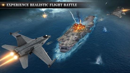Real City Jet Plane Flying Pilot - Worrier Battle - náhled