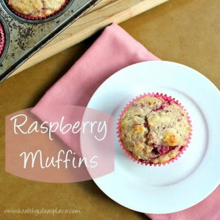 Raspberry Muffins.