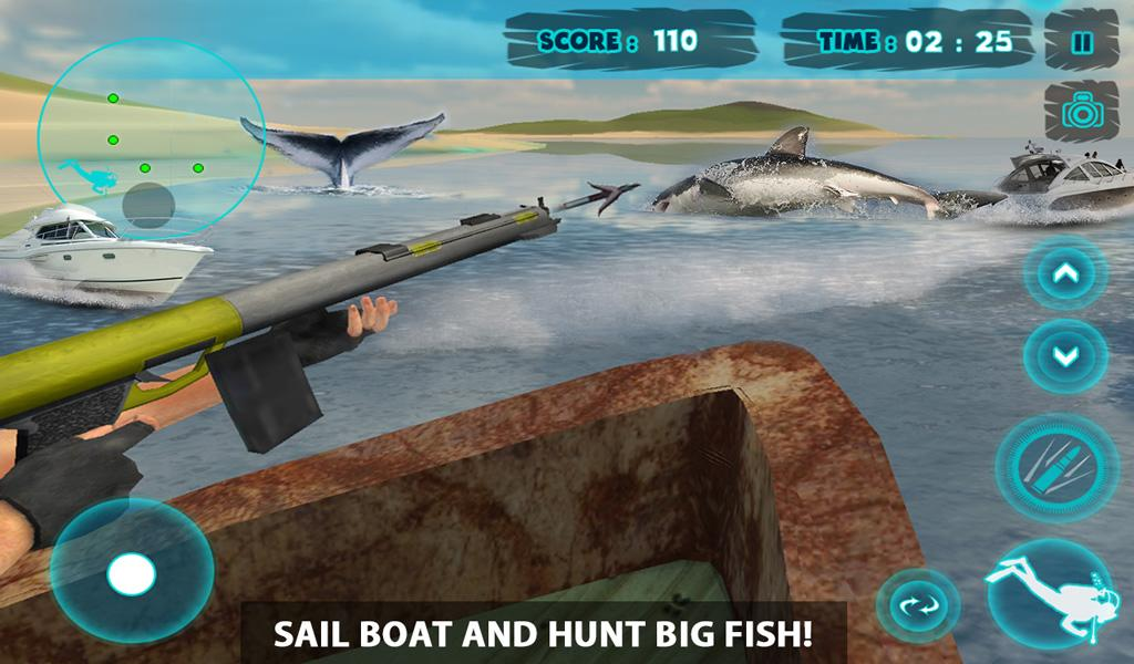 shark attack spear fishing 3d android apps on google play