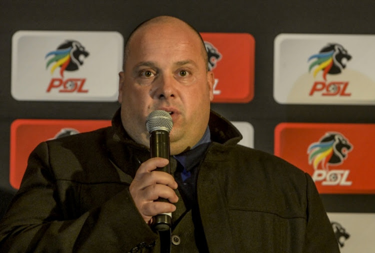 Black Leopards' coach Jean Francois Losciuto.