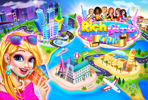 Code Triche Rich Girls Shopping 🛍  - Cash Register Games mod apk screenshots 1