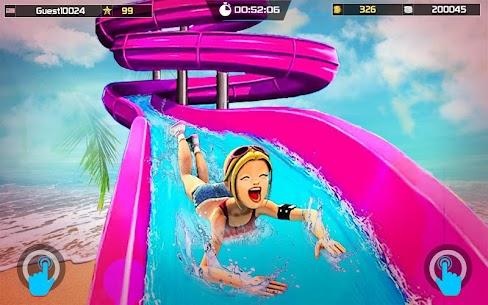 Uphill Water Slide Racing Adventure 1