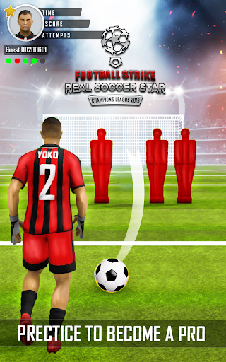 Football Strike Real Soccer Star Champions League 1.3 de.gamequotes.net 4