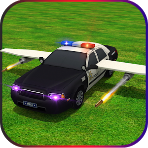 Flying Future Police Cars for PC and MAC