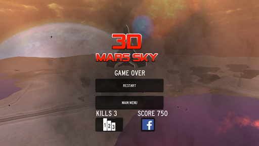 Mars Sky Attack 3D - skyforce