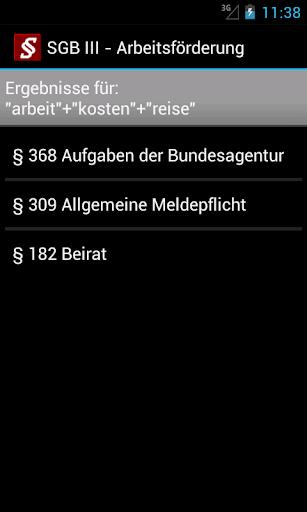 Sozialgesetzbuch screenshot 6