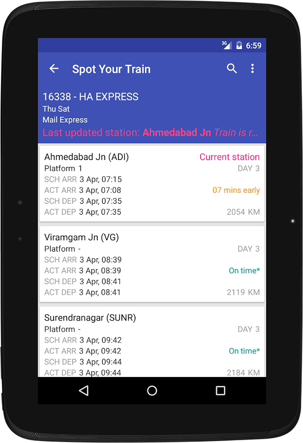 Indian Rail Enquiry- screenshot