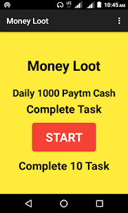 Money Loot - Earn Unlimited Paytm Cash - náhled