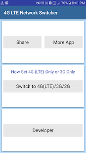 How to mod 4G LTE Network Switcher 1 0 unlimited apk for laptop