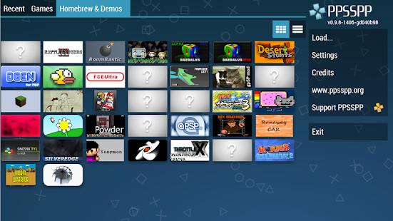 Game PPSSPP - PSP emulator APK for Windows Phone