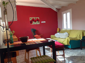 Photo: Quaint spanish style apartment we rented from airbnb, it was off La Rambla. It was a lovely comfortable home. wish had stayed longer