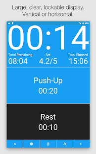 Seconds - HIIT Interval Timer- screenshot thumbnail