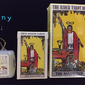 Tiny Tarot Universal Waite Key Chain タロットカード