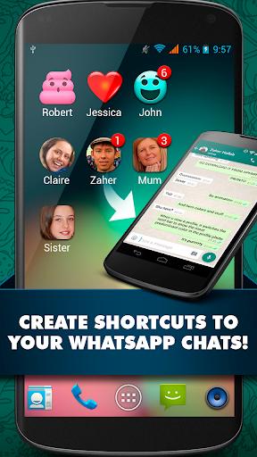 Whatsapp のショートカット