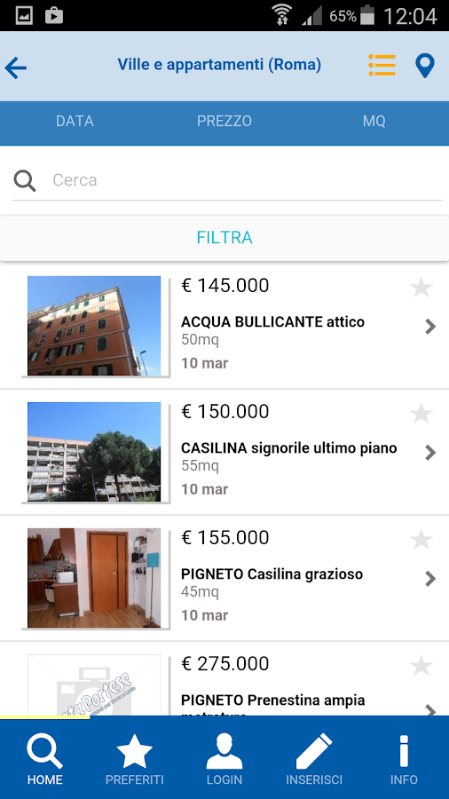 PortaPortese- screenshot