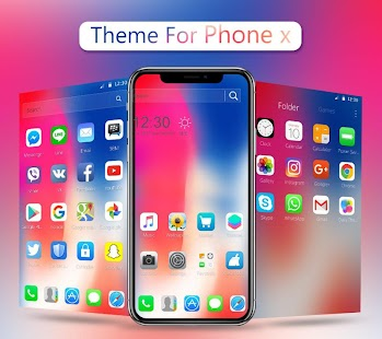 NEW Theme for Phone X Screenshot