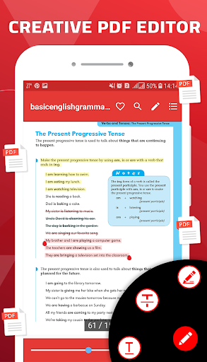 PDF Reader for Android 2020 screenshot 4