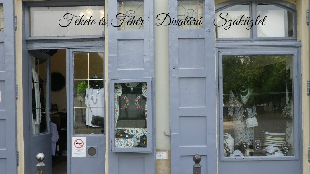 55903e5302 Fekete & Fehér Divatáru és Kiegészítők - Női ruhaüzlet itt: Budapest