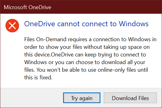 "[Solved] How to Fix ""OneDrive Cannot Connect to Windows"" Error"