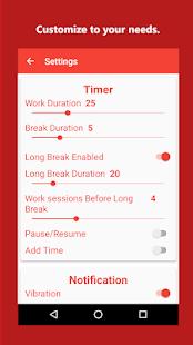 Brain Focus Productivity Timer Screenshot