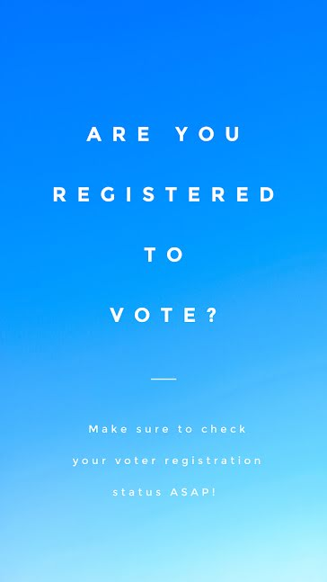 Are You Registered to Vote? - Facebook Story Template