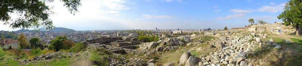 Photo: Ruine d'Eumolpias sur Nebet Tepe