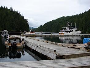 Photo: The dock at Cordero Lodge.