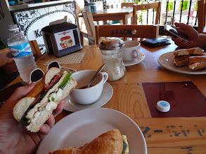 Photo: Tuhle snídaňárnu jsme si zamilovali. Nejlepší bagels.